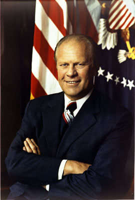 Gerald Ford, President by Accident