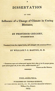 Gregory_Dissertation_Influence_Climate_Curing_Disease