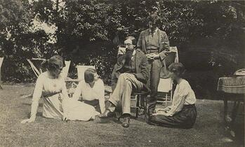 Several of the original members of the Bloomsbury Group