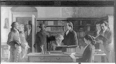 Benjamin Franklin First Subscription Library