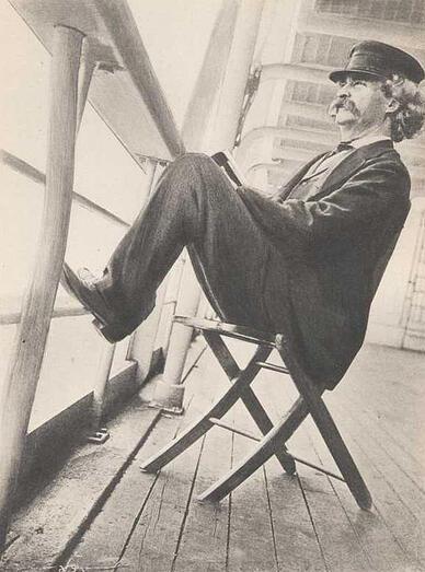 Travel Writing by Mark Twain