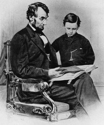 Abraham-Lincoln-Reading