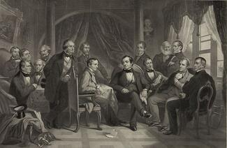 Washington_Irving_and_his_literary_friends_pd-1