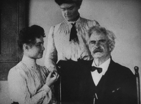 Mark Twain-Helen Keller-Anne Sullivan