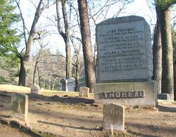 Thoreau-gravesite