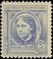 Louisa-May-Alcott-US-Postage-Stamp