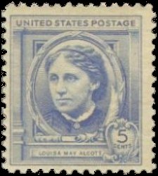 Louisa-May-Alcott-US-Postage-Stamp