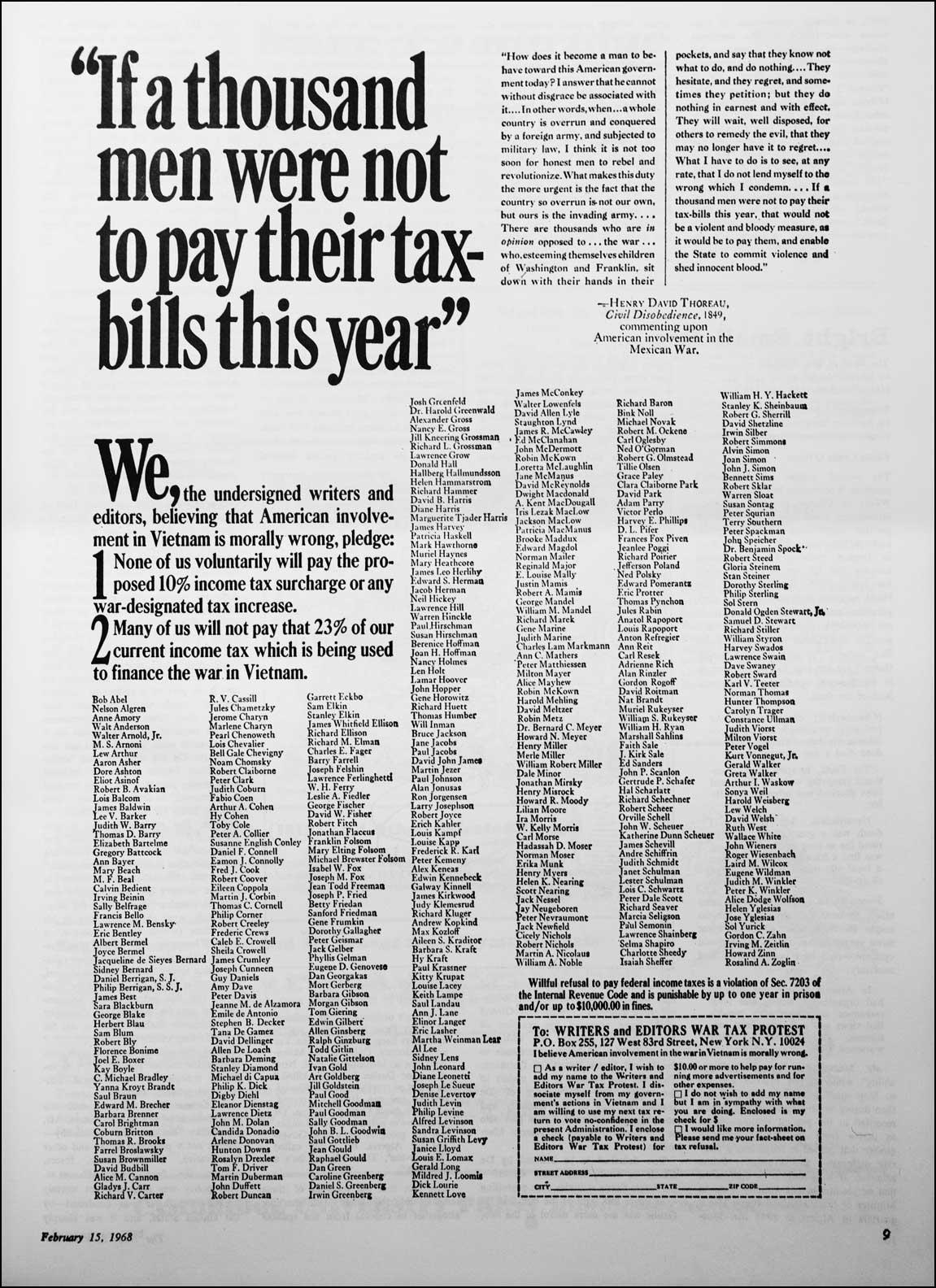 Writers-Editors-War-Tax-Protest-ad