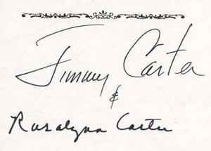 Jimmy Carter bookplate