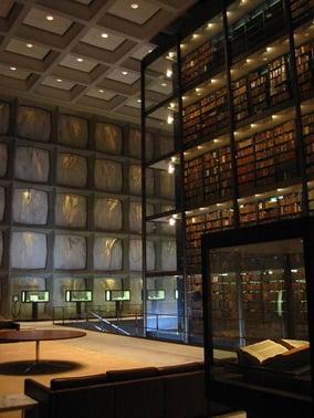 Beinecke_Library_interior_PD.jpg
