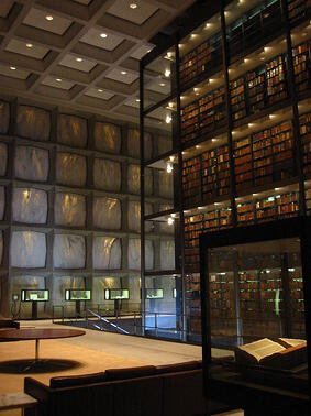 Beinecke_Library_interior_PD.jpg