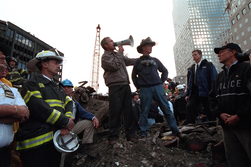 Bush_Ground_Zero