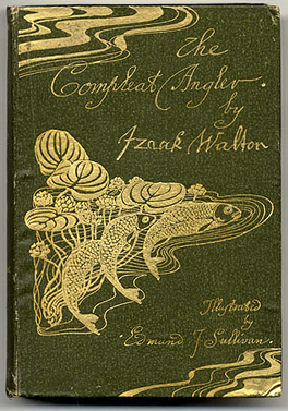 Front cover of The Compleat Angler as illustrated by Edmund J. Sullivan