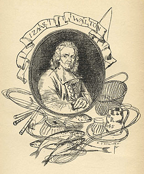 Portrait of Izaak Walton by Edmund J. Sullivan