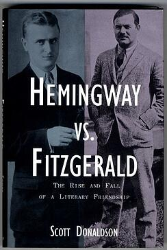 "Cover to ""Hemingway vs. Fitzgerald"" by Scott Donaldson"