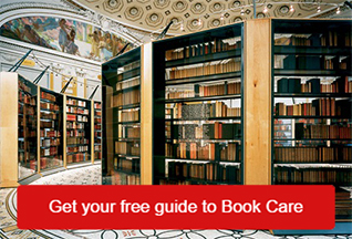 Get your free Guide to Book Care