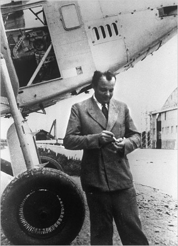"Antoine de Saint-Exupéry, Author of ""The Little Prince"""